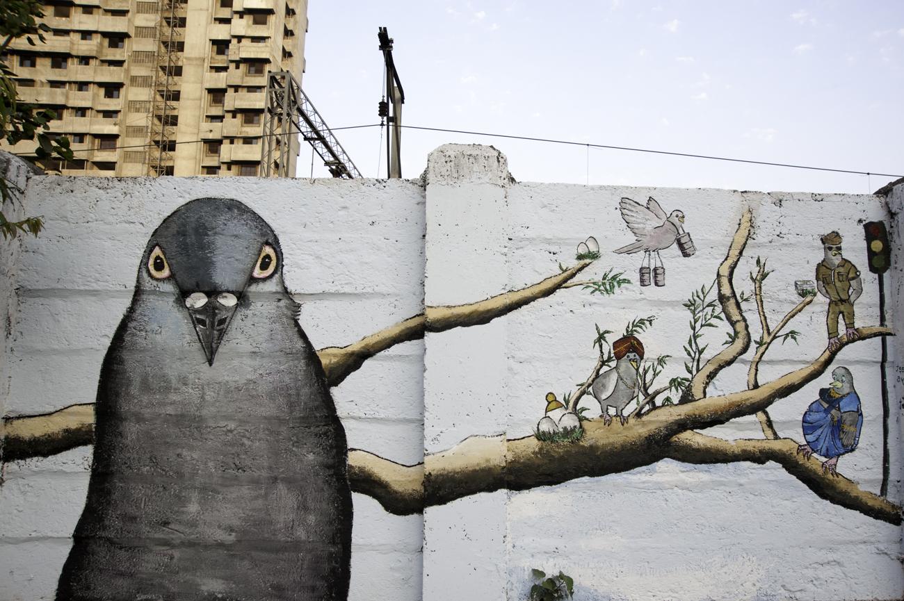 Article Culture - THE WALL PROJECT : street art à Mumbai