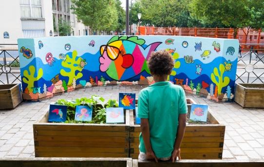 Stage Graffiti avec la Maison du Bas Belleville