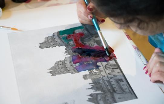 """Et la couleur fût - """"C'est mon patrimoine"""" au château de Pierrefonds"""