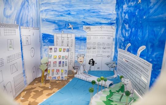 Diorama à « Ateliers 13 pour tous »