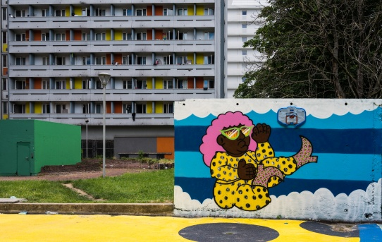 Fresque à la Capsulerie - Bagnolet